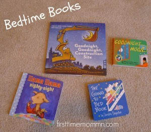 building baby's library bedtime books