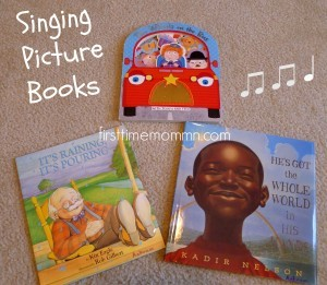 building baby's library singing picture books