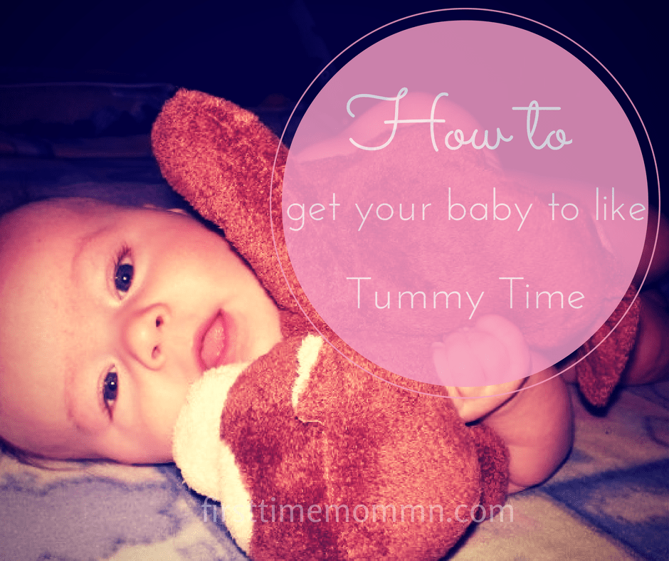 How to get your baby to like Tummy Time