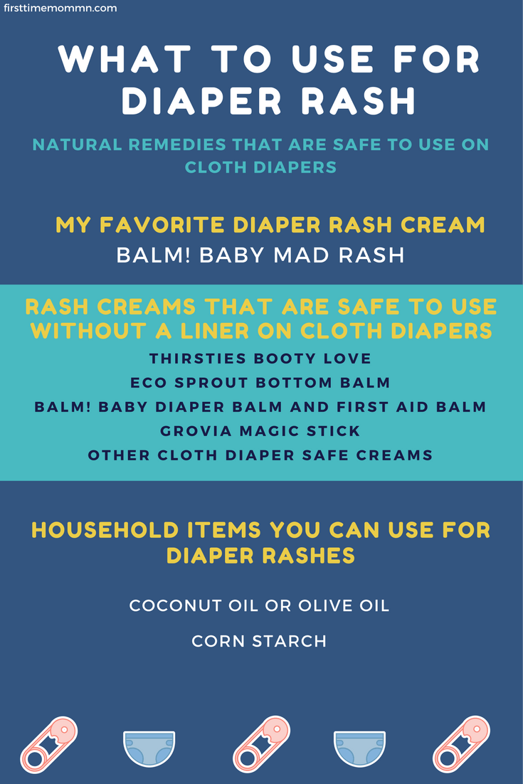 What to use on a diaper rash that's natural and can also be used with cloth diapers