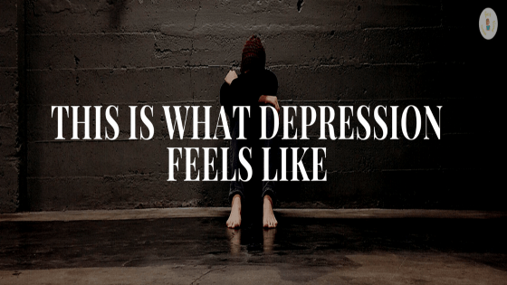This is what depression feels like