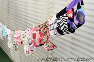 Setting The Cloth Diaper Record Straight by Kassie from Going Green with the Grizls