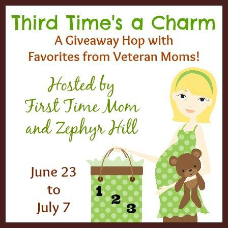 Third Time's a Charm: Maternity and Baby giveaways from Veteran Moms