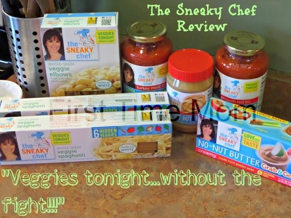 "Sneaky Chef Review & Giveaway: ""Veggies tonight…without the fight!"""