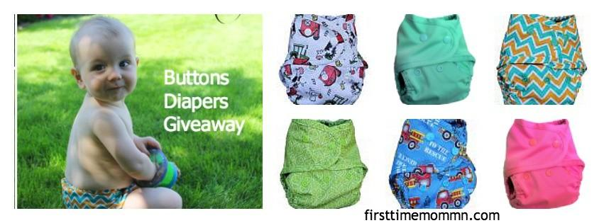 Buttons Diapers Summer Giveaway