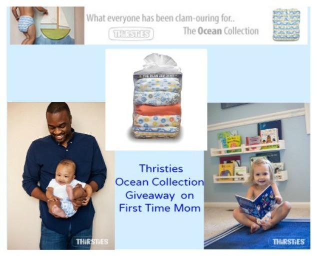 Thirsties: The Ocean Collection, a Giveaway
