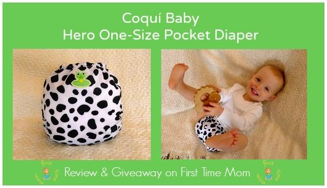 Coquí Baby Hero One-Size Pocket Diaper Review & Giveaway
