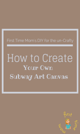How to Create Your Own Subway Art