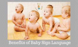 Benefits of Baby Sign Language