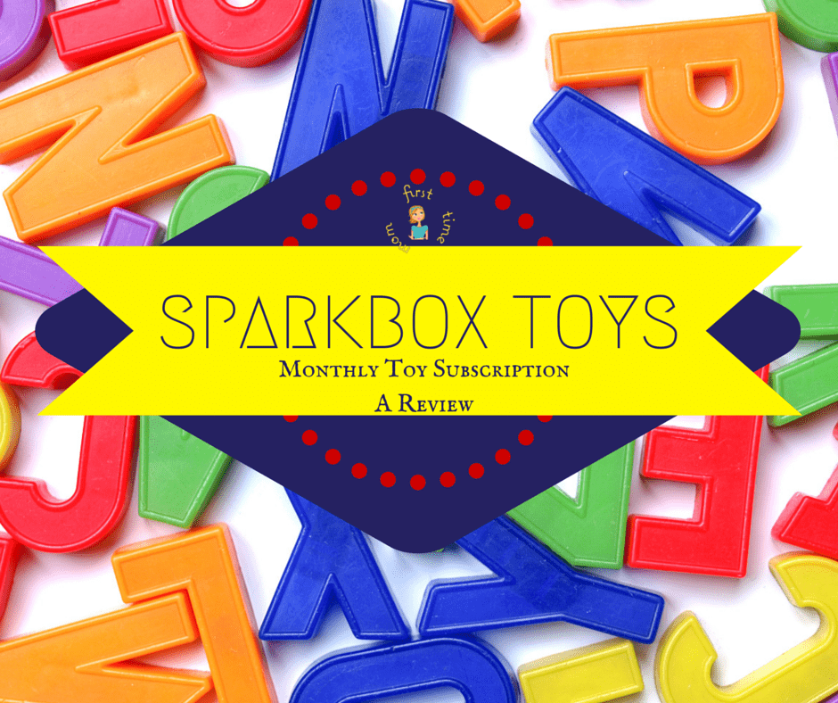Sparkbox Toys Review: Monthly Subscription