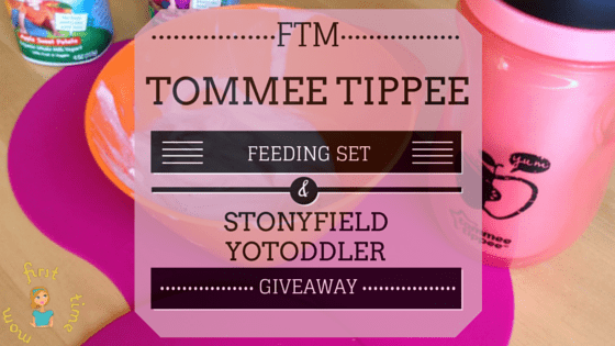 It's Snack Time with Stonyfield Organic & Tommee Tipee! (Review)
