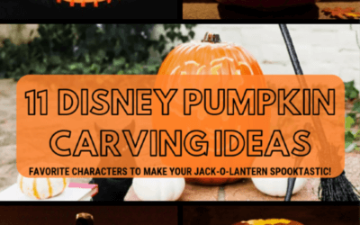 Disney Pumpkin Carving Ideas with Stencils