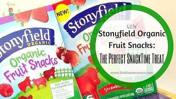 *New* Stonyfield Organic Fruit Snacks: Perfect SnackTime Treat