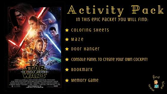 All Things Star Wars: The Force Awakens Activity Pack