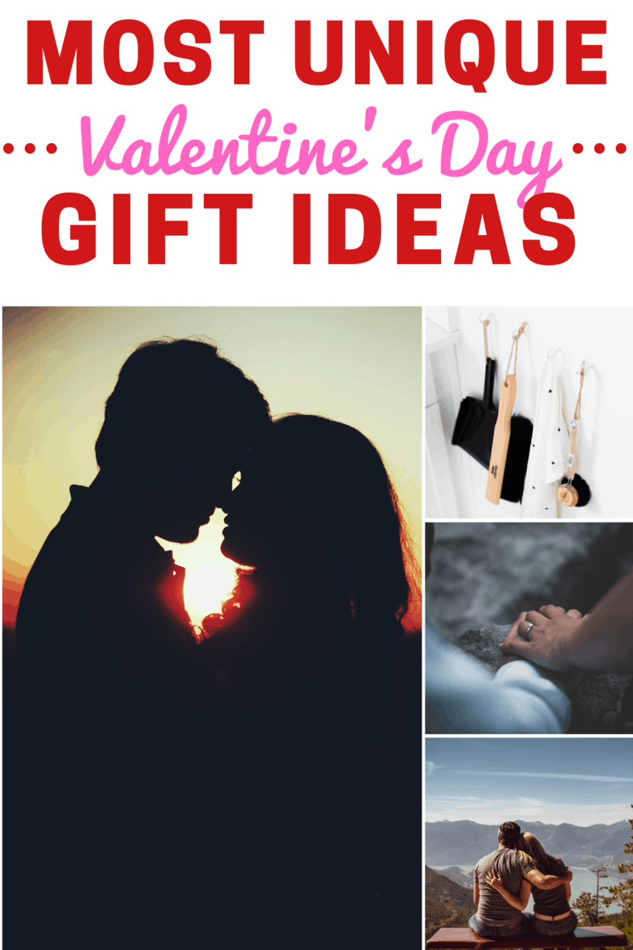 Most unique Valentine's Day Gift Ideas for the mom with young children. Skip the roses and chocolates and do something that will make her see stars for months afterwards. #valentinesday #mom #giftideas