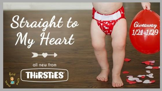 Thirsties Straight to My Heart Giveaway