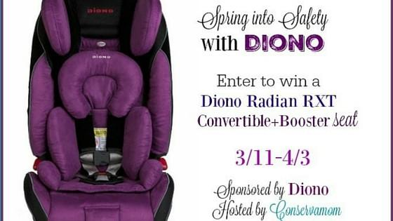 Spring into Safety: Diono Radian RXT Giveaway