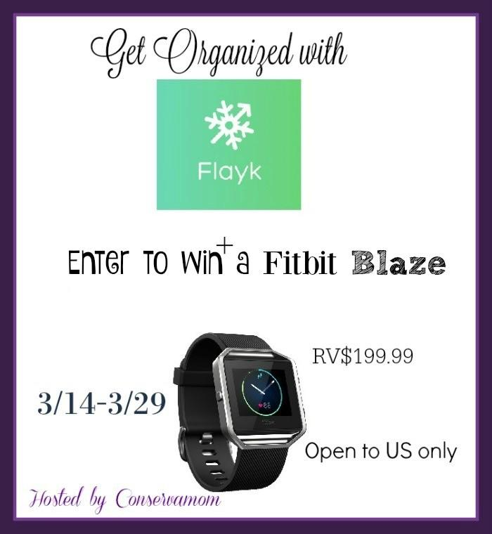 Get Organized with Flayk & Enter to Win a Fitbit Blaze
