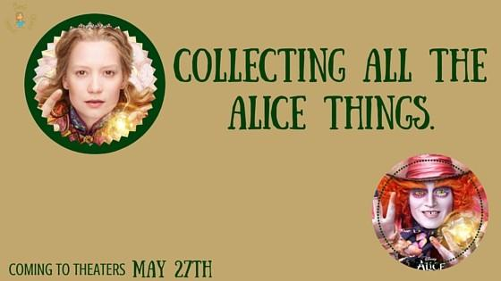 Alice Through the Looking Glass: Collecting all the Alice Things