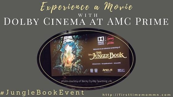 Experience a Movie with Dolby Cinema at AMC Prime