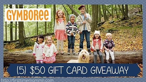 Gymboree Giveaway (5) Winners! $50 Gift Card