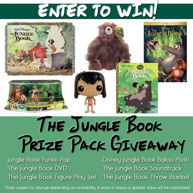The Jungle Book Prize Pack #Giveaway!