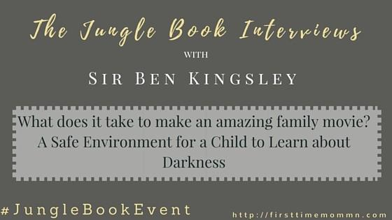 The Jungle Book Interviews with Sir Ben Kingsley