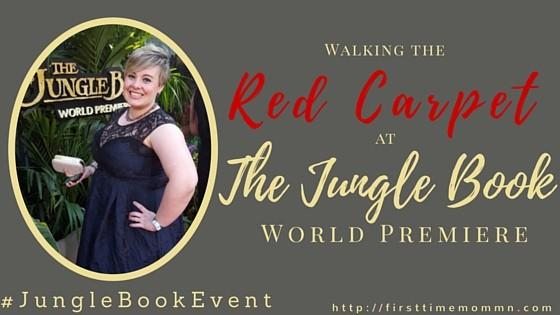 #JungleBookEvent: Walking the Red Carpet at The Jungle Book