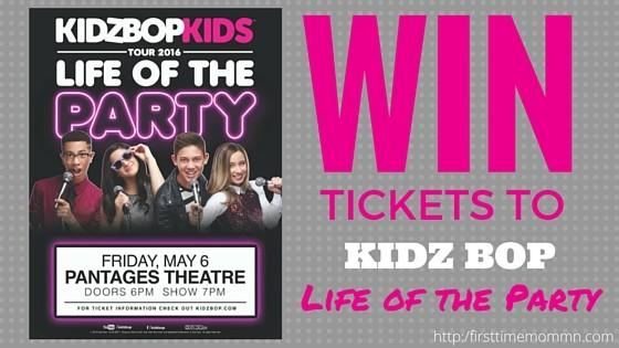 The KIDZ BOP Kids Hit Minneapolis on 5/6 & You Could Win Four Tickets to the Concert!