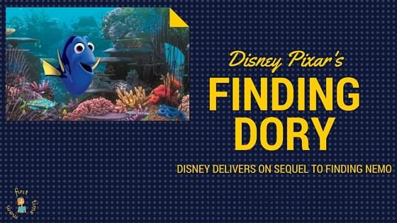 FINDING DORY Review: Disney Pixar delivers on sequel to FINDING NEMO.