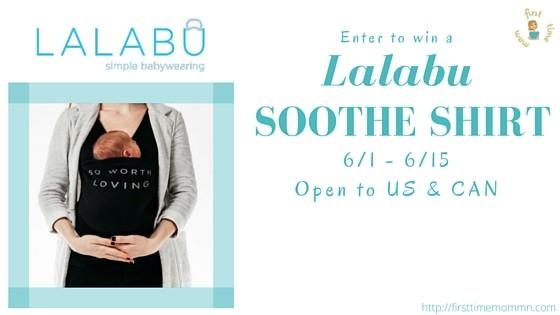 Win a Lalabu Soothe Shirt! 6/1 – 6/15 Open to US and Canada
