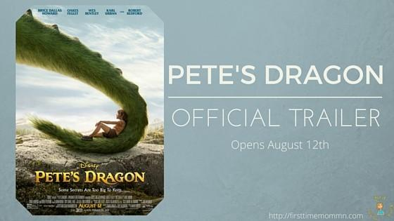 Pete's Dragon Official Trailer: Opens Everywhere August 12th!