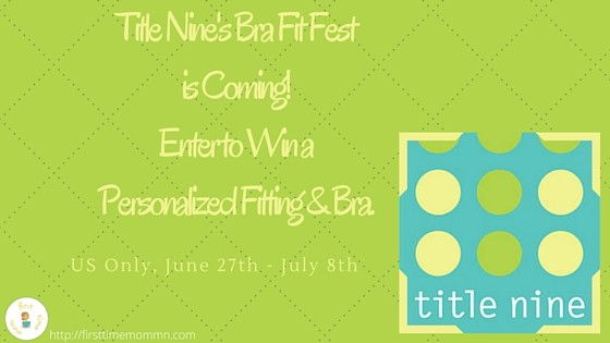 Title Nine's Bra Fit Fest is Coming! Enter to Win a Personalized Fitting & Bra.