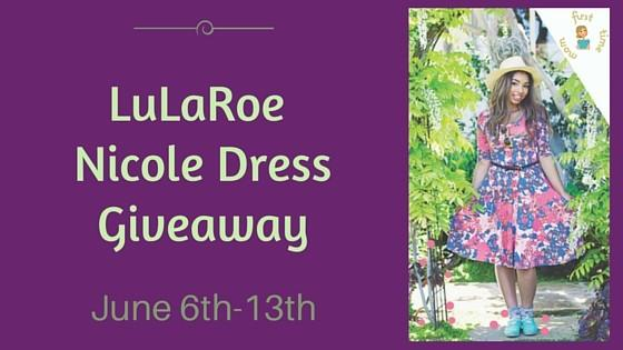 LuLaRoe Nicole Dress Giveaway