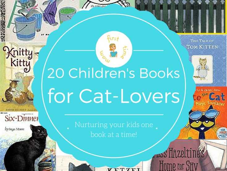 20 Children's Books for Cat-Lovers