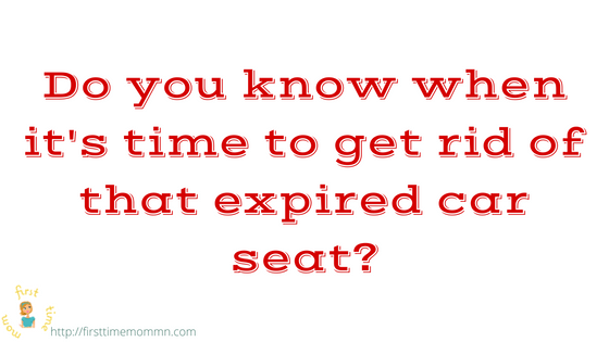 Do you know when it's time to get rid of that expired car seat?