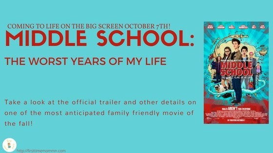 James Patterson's MIDDLE SCHOOL: THE WORST YEARS OF MY LIFE coming to the big screen!