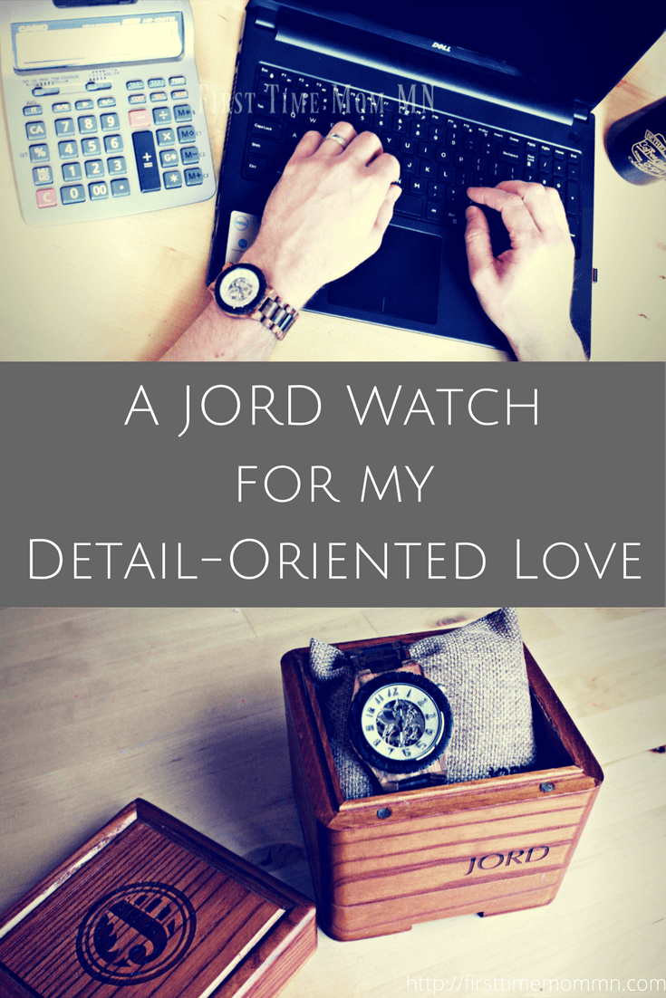 Great gift idea for a guy! A JORD Wood Watch for my Detail-Oriented Love