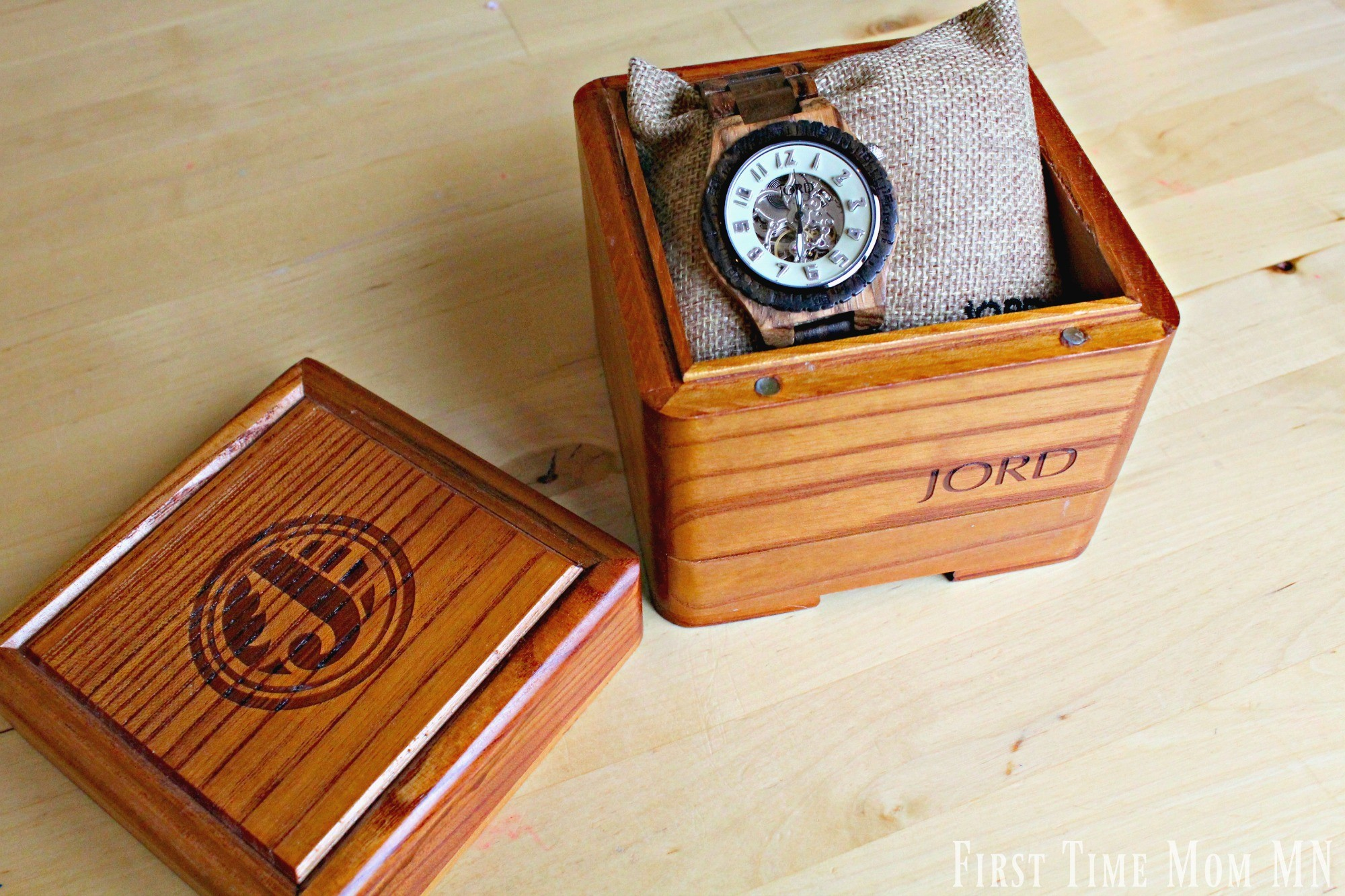 Dover Zebrawood and Sandalwood Mens Watch