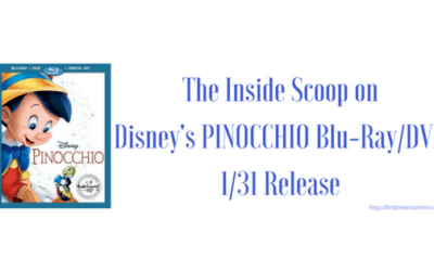 The Inside Scoop on Disney's PINOCCHIO Blu-Ray/DVD 1/31 Release