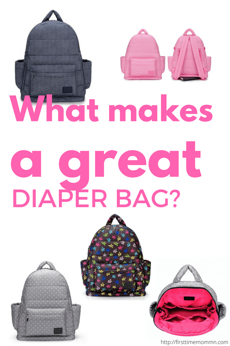 What makes a great diaper bag?