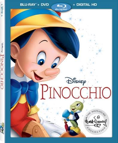 PINOCCHIO Blu-Ray available 1/31