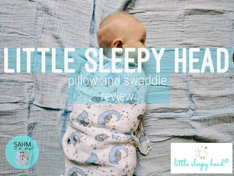Little Sleepy Head Pillow and Swaddle Review