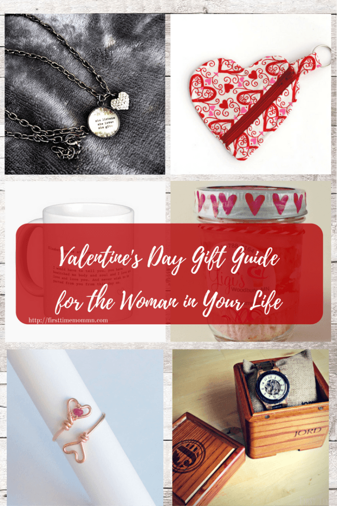 Valentine's Day Gift Guide for the Woman in Your Life. Pin now and send as a hint later!