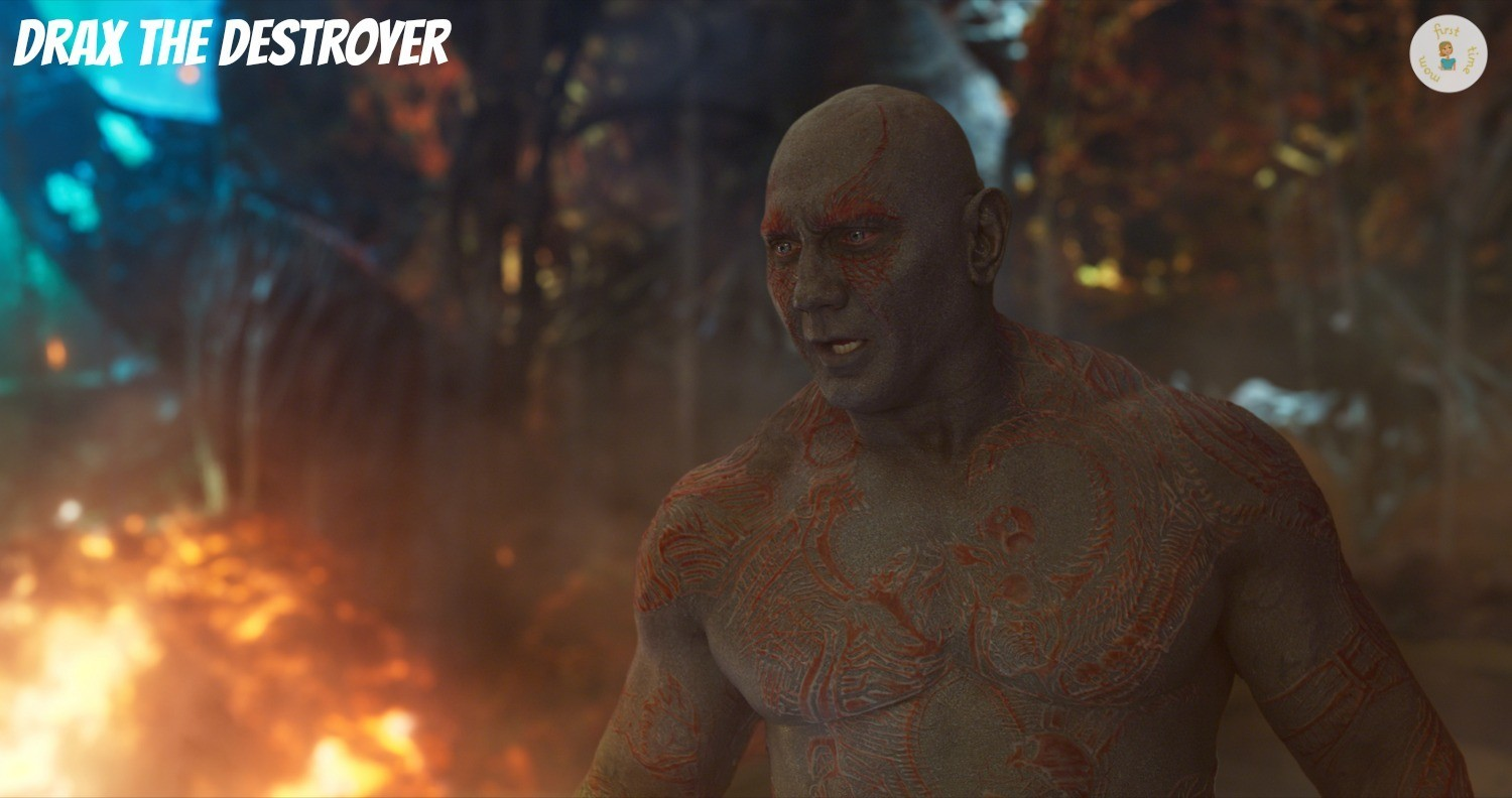 Drax the Destroyer in GOTG