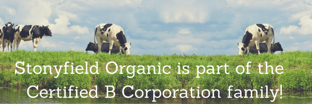 Stonyfield Organic is part of the Certified B Corporation family!