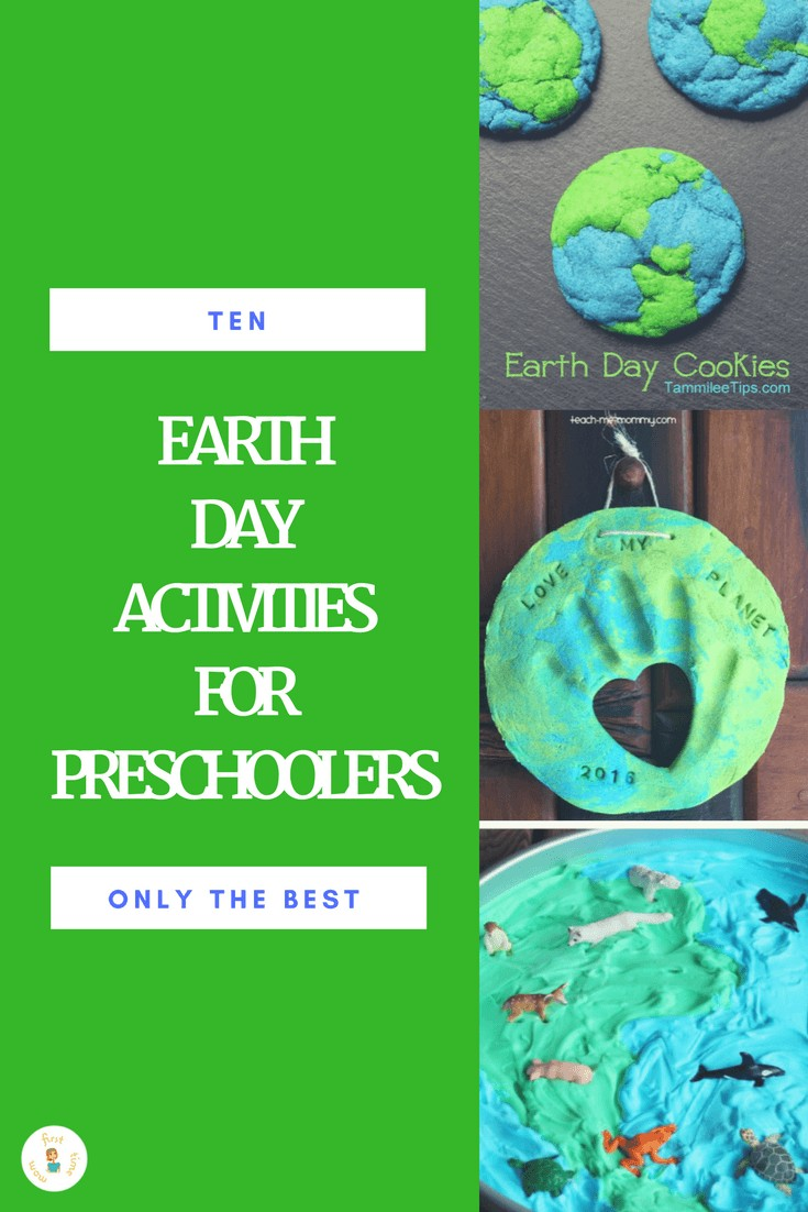 Ten of the Best Earth Day Activities for Preschoolers. The perfect roundup of the best activities for your preschooler from some of our favorite bloggers.