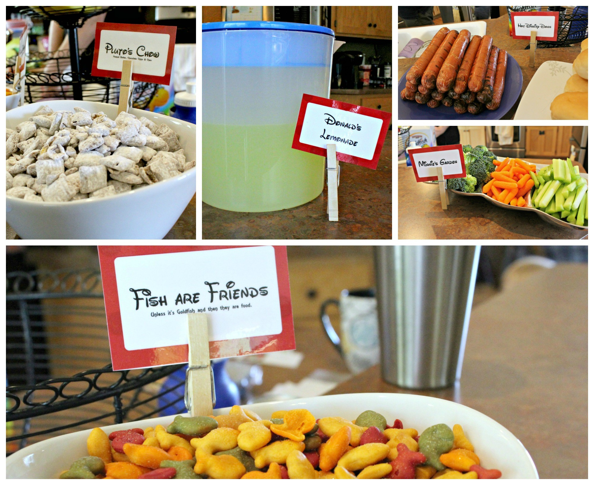 How to Throw a Disney Party with Minimal Crafting Skills. The Food.