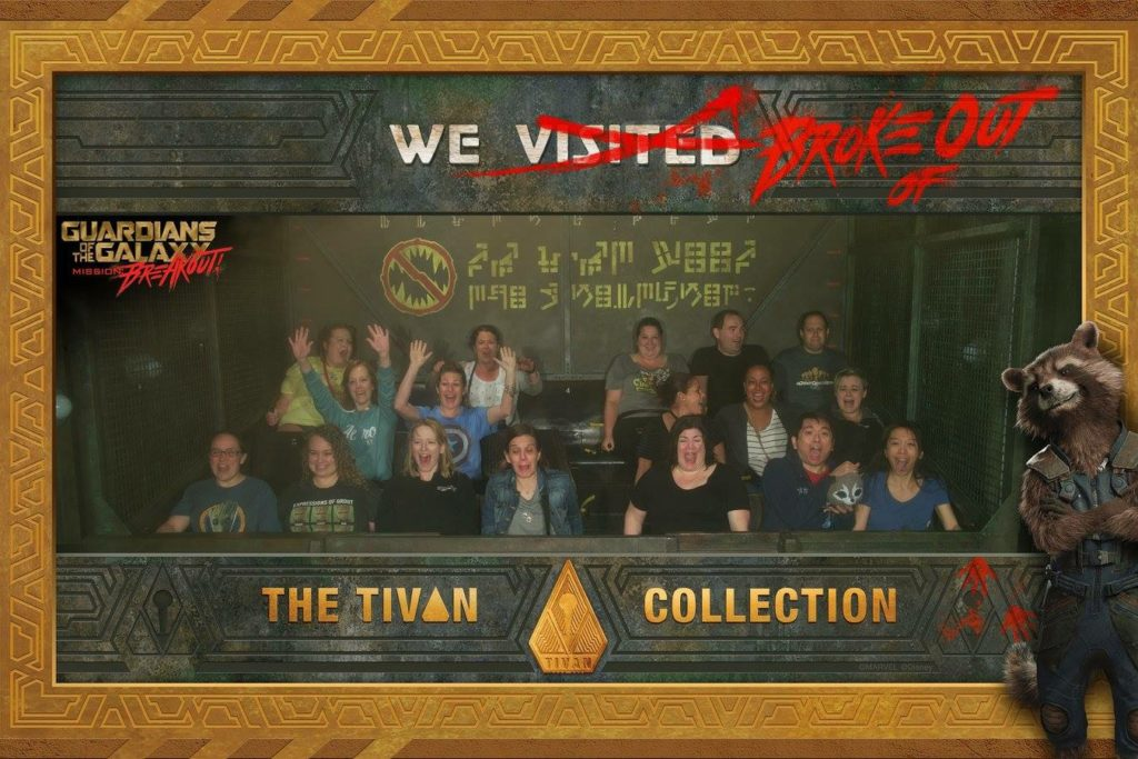 Guardians of the Galaxy Mission: Breakout #SummerofHeroes
