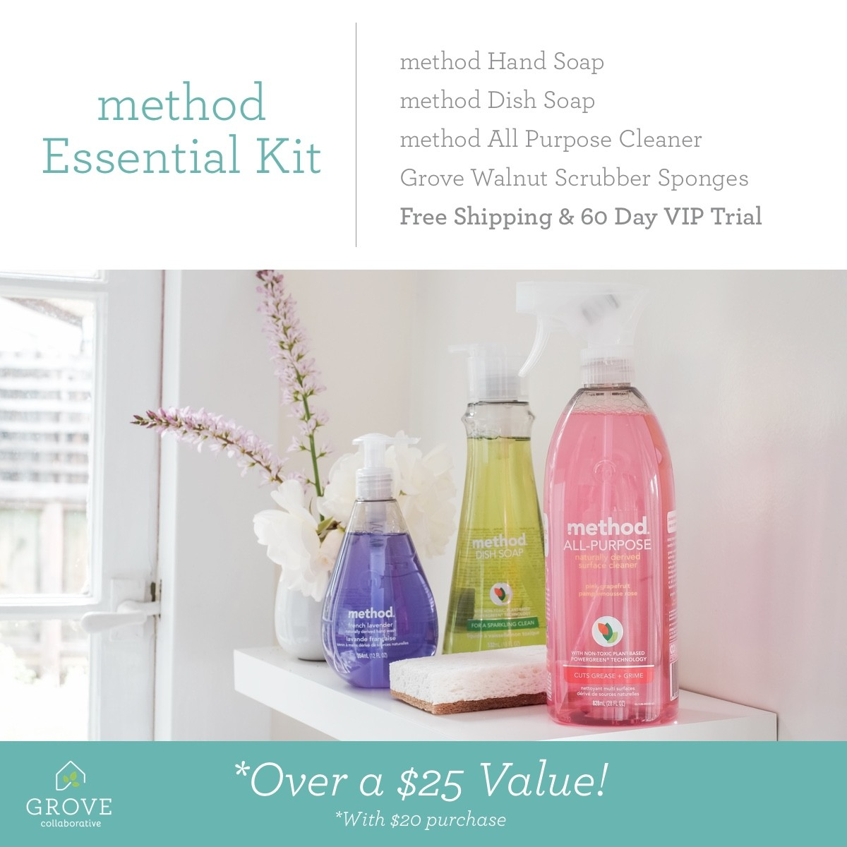 Method Essential Kit from Grove Collaborative